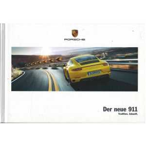 Catalogue PORSCHE 911-991 Der neue 911 (Allemand) 03/16