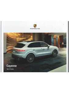 Catalogue PORSCHE CAYENNE (Français) 05/18