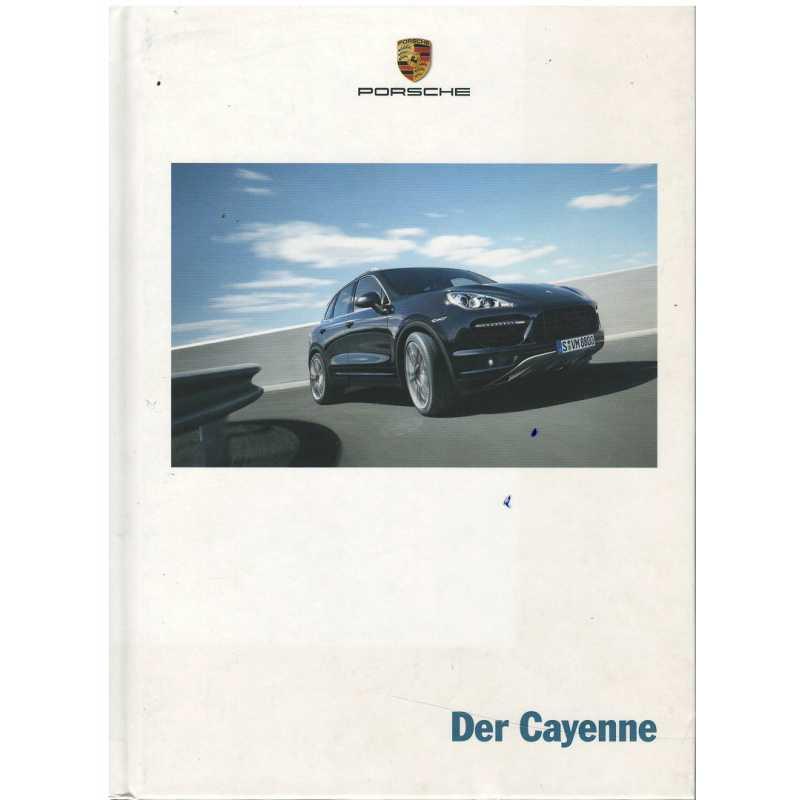 Catalogue PORSCHE CAYENNE (Allemand) 02/12
