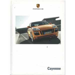 Catalogue PORSCHE CAYENNE (Néerlandais) 07/08