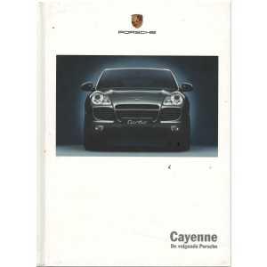 Catalogue PORSCHE CAYENNE (Néerlandais) 06/02