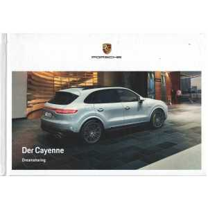 Catalogue PORSCHE CAYENNE (Allemand) 05/18