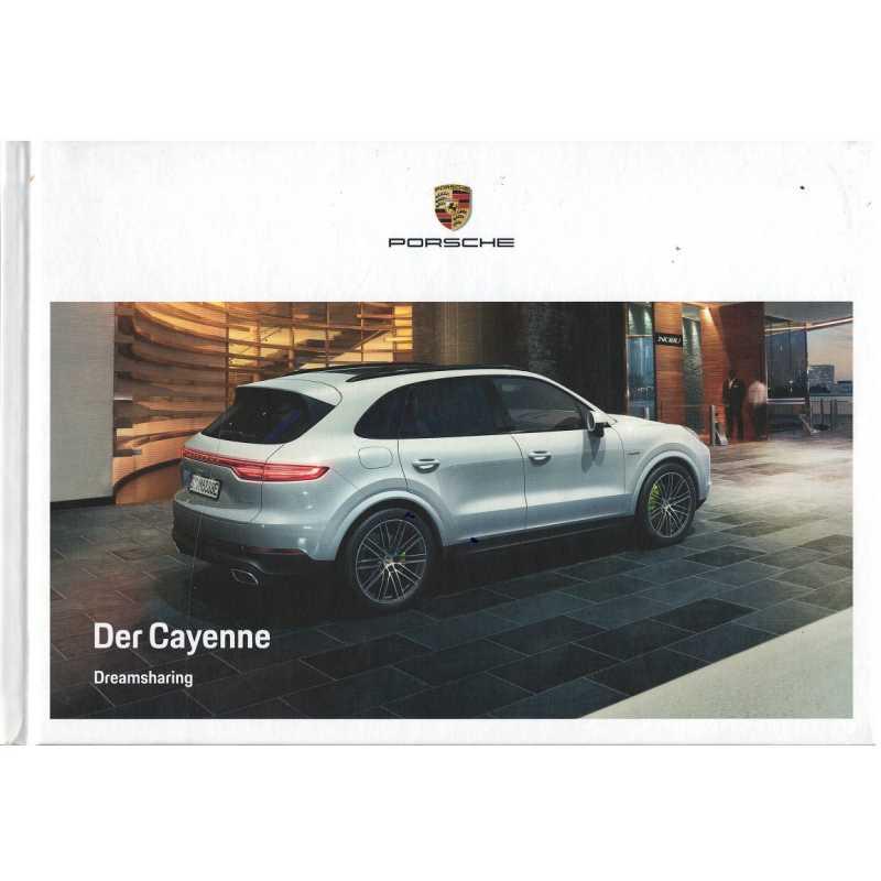 Catalogue PORSCHE CAYENNE (Allemand) 05/18