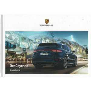 Catalogue PORSCHE CAYENNE (Allemand) 08/19