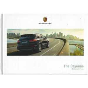 Catalogue PORSCHE CAYENNE (Anglais) 03/16