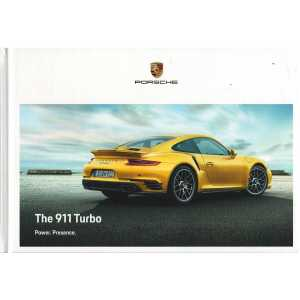 Catalogue PORSCHE 911-991 Turbo - Turbo S (Anglais) 12/17