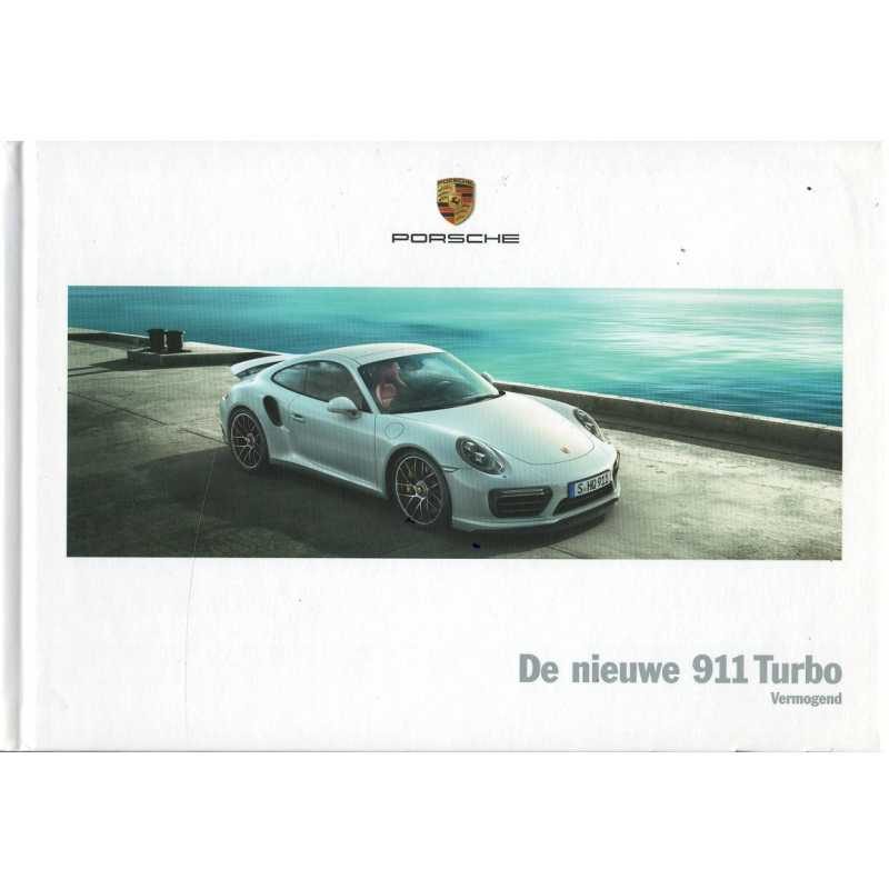 Catalogue PORSCHE 911-991 Turbo - Turbo S (Néerlandais) 06/16