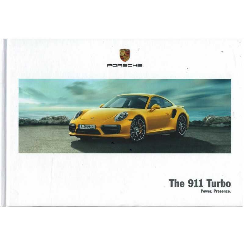 Catalogue PORSCHE 911-991 Turbo - Turbo S (Allemand) 03/17