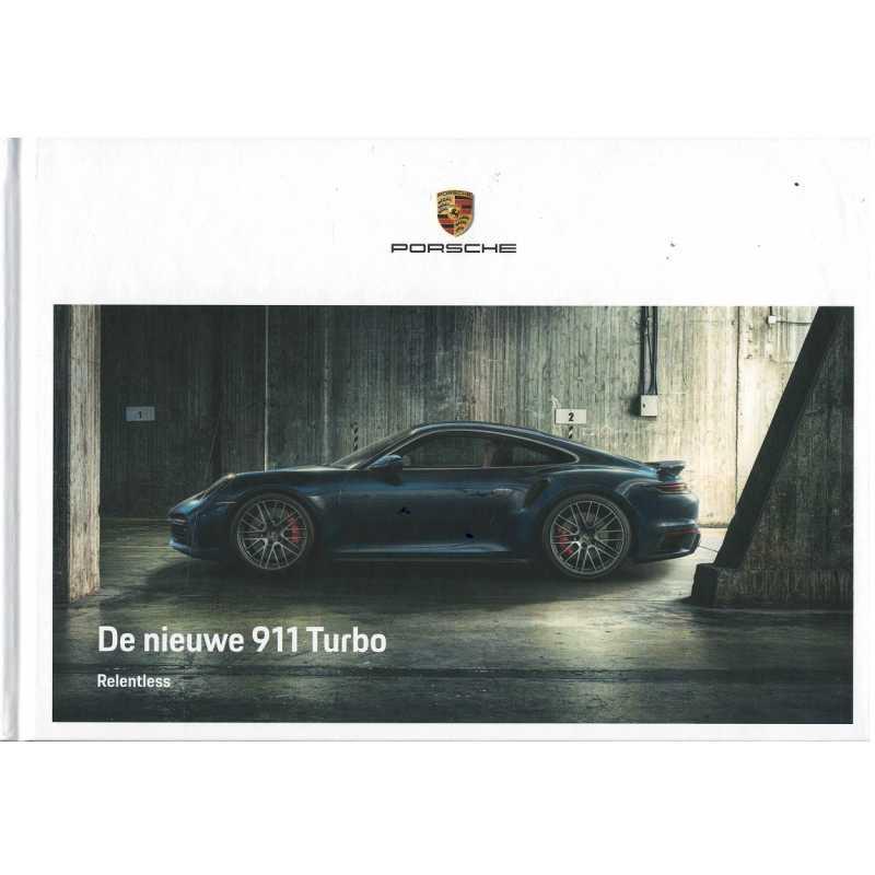 Catalogue PORSCHE 911-992 Turbo - Turbo S (Néerlandais) 07/20