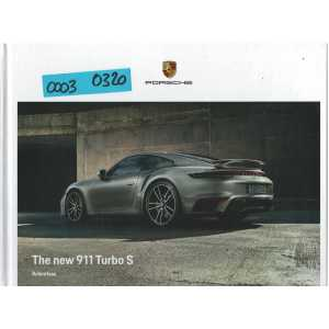 Catalogue PORSCHE 911-992 Turbo - Turbo S (Anglais) 03/20