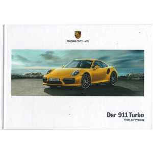Catalogue PORSCHE 911-991 Turbo - Turbo S (Allemand) 03/17