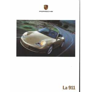 Catalogue PORSCHE 996 de 1999