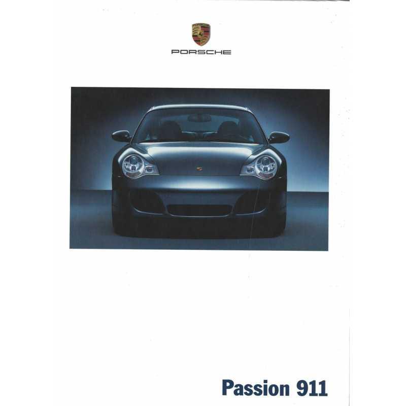 Catalogue PORSCHE 996 de 2002
