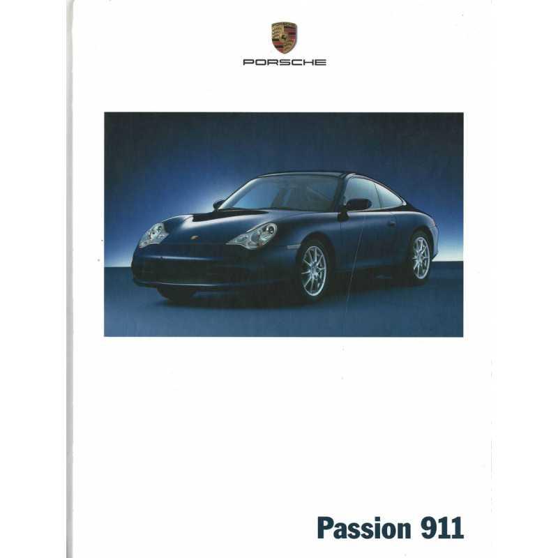 Catalogue PORSCHE 996 de 2001