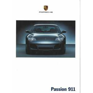 Catalogue PORSCHE 996 de 2002 en Français