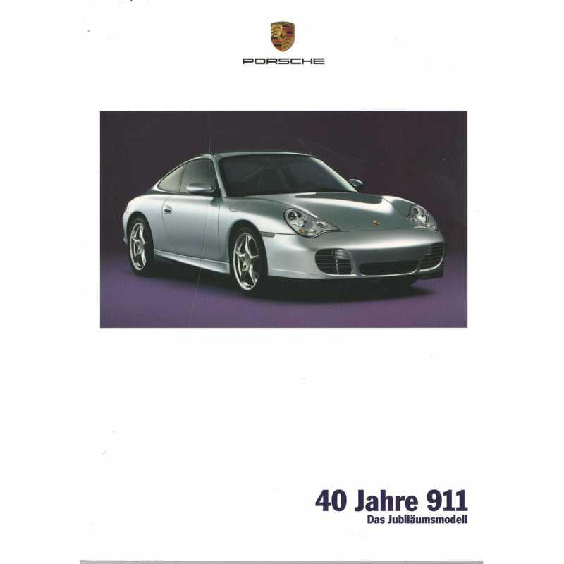 Catalogue PORSCHE 996 de 2003