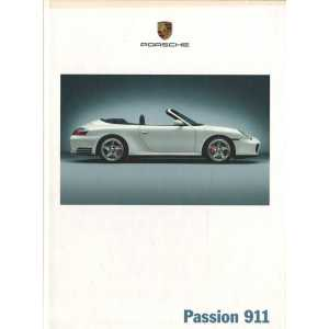 Catalogue PORSCHE 996 en Allemand de 2003