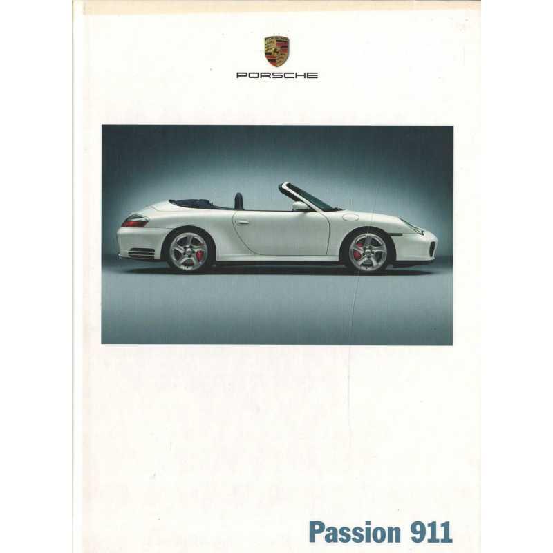 Catalogue PORSCHE 996 en Allemand de 2003