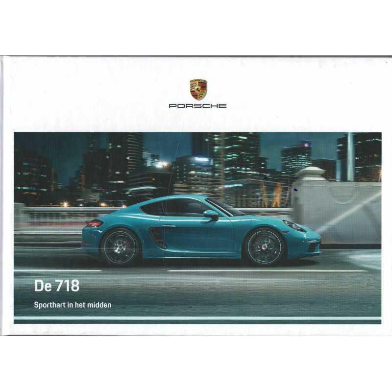 Catalogue PORSCHE 718 Boxster - Cayman en Néerlandais de 2019