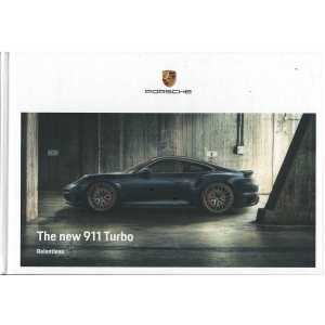 Catalogue PORSCHE 911-992 Turbo -Turbo S - (Anglais) 07/2020