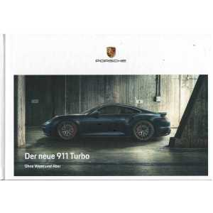 Catalogue PORSCHE 911-992 Turbo -Turbo S - (Allemand) a07/2020