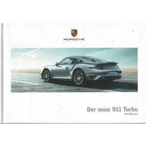 PORSCHE 911-991 Turbo -Turbo S - (Allemand) 05/2013