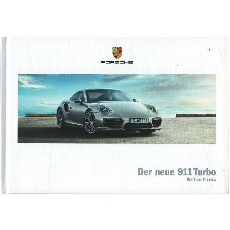 Catalogue PORSCHE 911-991 Turbo - Turbo S (Allemand) 12/15