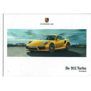 Catalogue PORSCHE 911-991 Turbo - Turbo S (Néerlandais) 03/17