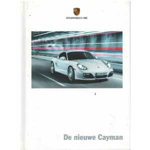 Catalogue PORSCHE CAYMAN (Néerlandais) 08/08