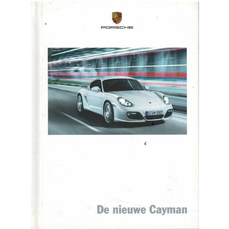 Catalogue PORSCHE CAYMAN (Néerlandais) 08/08