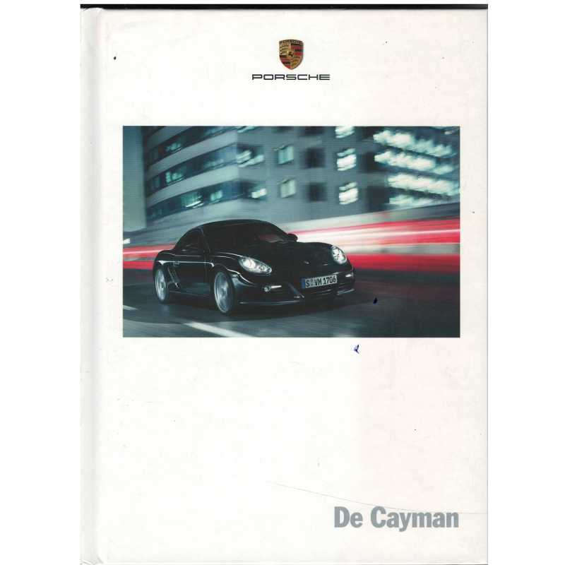 Catalogue PORSCHE CAYMAN (Néerlandais) 01/10