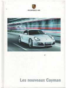 Catalogue PORSCHE CAYMAN (Français) 08/08