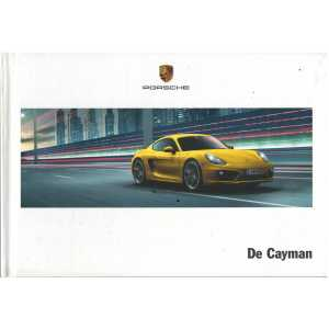 Catalogue PORSCHE CAYMAN (Néerlandais) 06/13