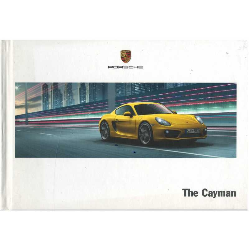 Catalogue PORSCHE CAYMAN (Anglais) 06/13