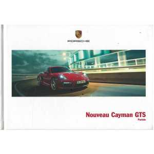 Catalogue PORSCHE CAYMAN GTS (Français) 03/14