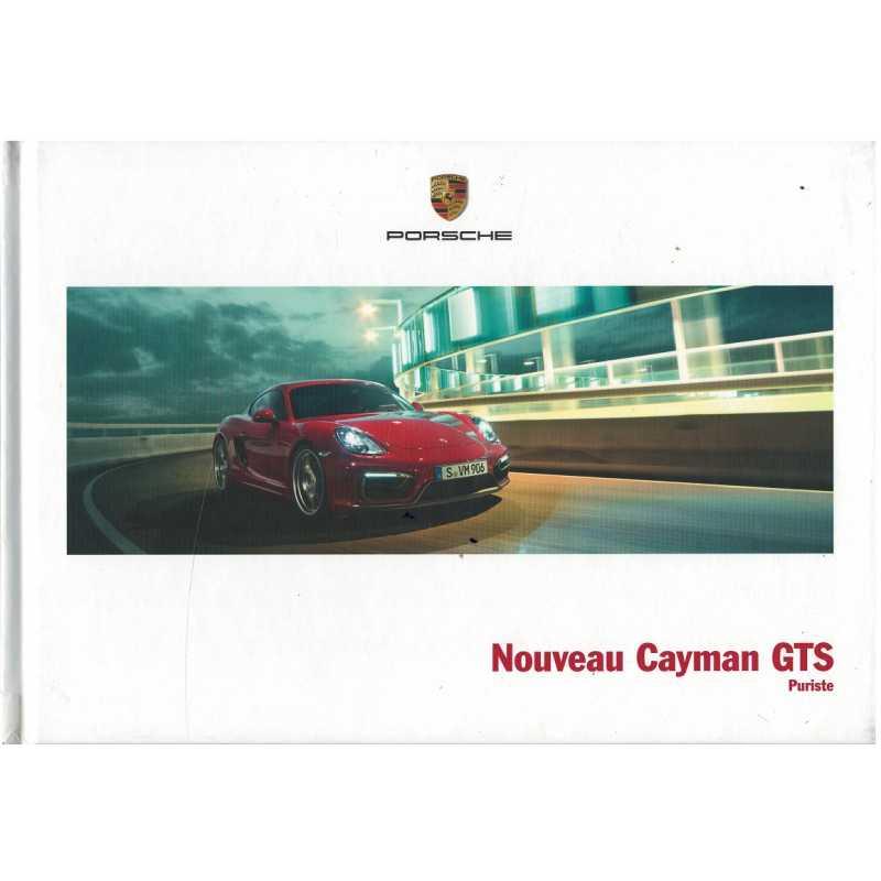 Catalogue PORSCHE CAYMAN GTS (Français) 03/14