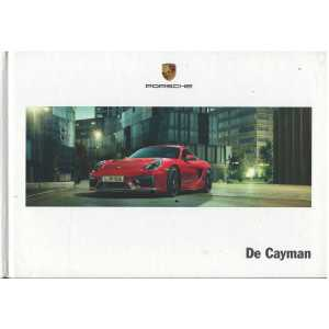 Catalogue PORSCHE CAYMAN (Néerlandais) 03/14