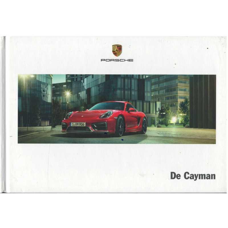 Catalogue PORSCHE CAYMAN (Néerlandais) 03/14