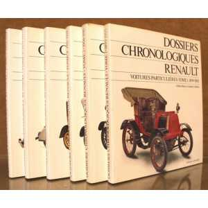 Dossiers chronologiques Renault Tome 1 (1899-1905)