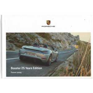 Catalogue PORSCHE BOXSTER 25 Years Edition (Néerlandais) 01/21