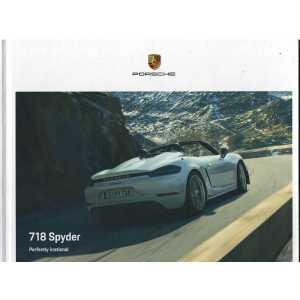 Catalogue PORSCHE 718 SPYDER (Néerlandais) 06/19