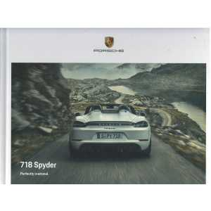 Catalogue PORSCHE 718 SPYDER (Anglais) 09/20