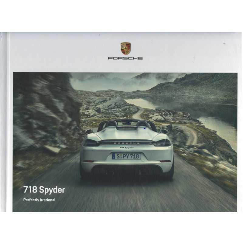 Catalogue PORSCHE 718 SPYDER (Anglais) 09/20