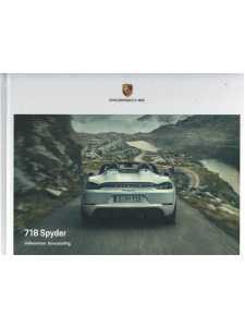 Catalogue PORSCHE 718 SPYDER (Allemand) 09/20