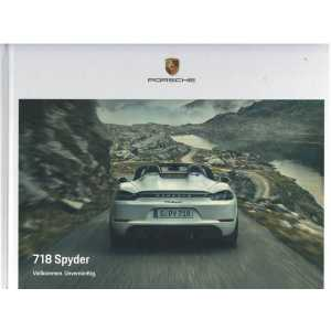 Catalogue PORSCHE 718 SPYDER (Allemand) 09/20