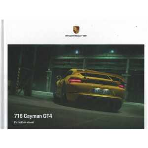 Catalogue PORSCHE 718 CAYMAN GT4 (Anglais) 09/20