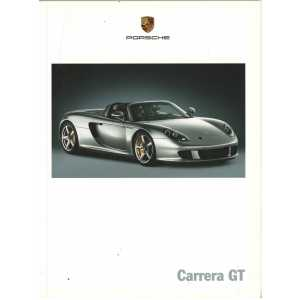 Catalogue PORSCHE CARRERA GT 2003 ( Allemand )