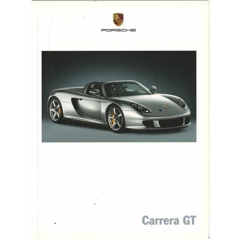 Catalogue PORSCHE CARRERA GT 2003 ( Allemand )