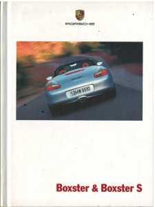 Catalogue PORSCHE BOXSTER 2001 (Allemand)