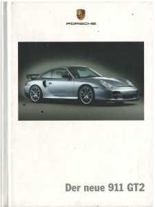 Catalogue PORSCHE 996 GT2 2004 (Allemand)